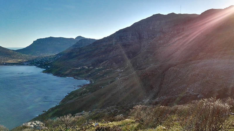 Looking back towards Hout Bay